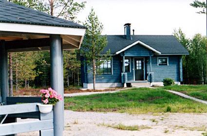 Ferienhaus Finnland Posio Mäntyaho, parkkisenniemen lomamökit