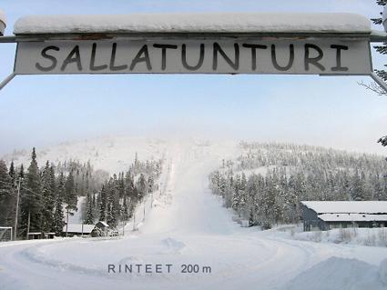 Ferienhaus Finnland Salla Sallainen huoneisto