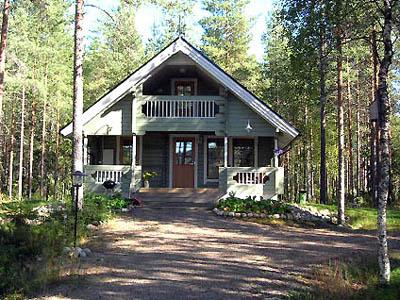 Ferienhaus - 'Kalastajatorppa' (Finnland, Sotkamo)